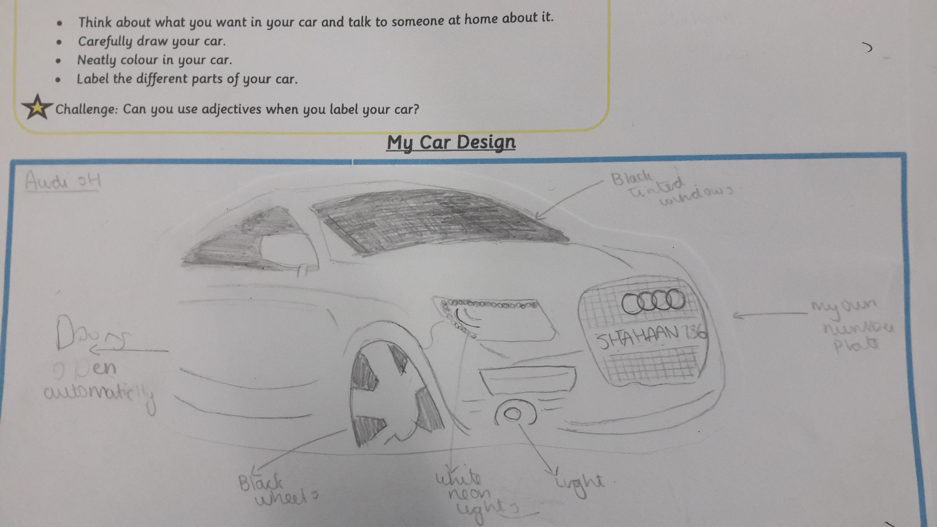 Cars of the future! | Brooklands Farm Primary School